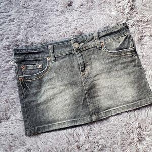 American eagle denim mini skirt GH